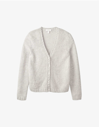 The White Company V-neck knitted cardigan
