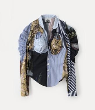Vivienne Westwood Cocoon Shirt Paradise Print