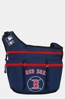 Diaper Dude 'Boston Red Sox' Messenger Diaper Bag