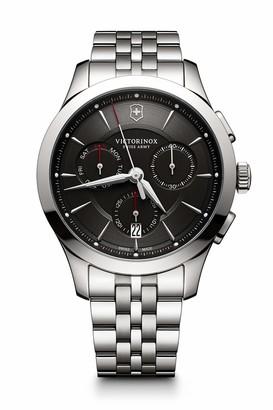 Victorinox Men's Alliance Swiss-Quartz Watch with Stainless-Steel Strap Silver 21 (Model: 241745)