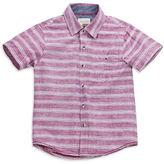 Sovereign Code Boys 2-7 Striped Cotton Shirt