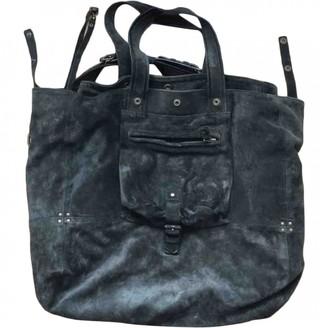 Jerome Dreyfuss Billy Black Suede Handbags