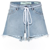 Off-White Diagonal 5 denim shorts
