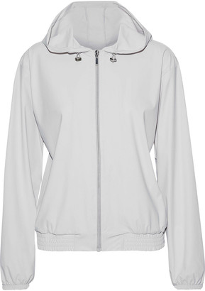 Iris & Ink Stretch-shell Hooded Track Jacket