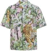 Kenzo Hawaiian Print Shirt
