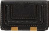 Chloé Marci Leather Flap Card Holder