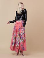 Diane von Furstenberg D Ring Long Skirt