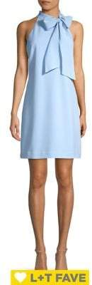 Vince Camuto Bow Neck Shift Dress