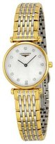Longines La Grand Classic in Two Tone with Diamond Markers Ultra Thin Women's Watch