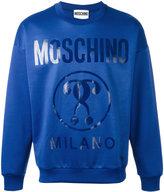 Moschino logo printed sweatshirt - men - Cotton/Polyester - M