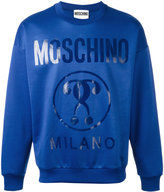 Moschino logo printed sweatshirt - men - Cotton/Polyester - XS