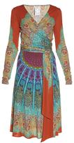 Etro Paisley-print wrap dress