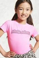 Forever 21 Girls Graphic Bodysuit (Kids)