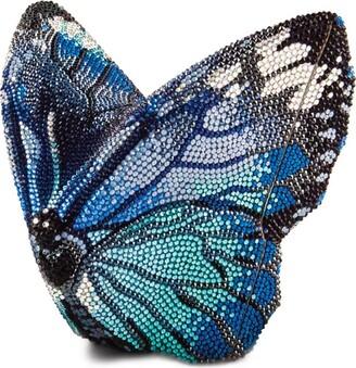 Judith Leiber Crystal Butterfly Mila Clutch Bag