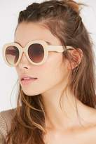 Urban Outfitters Sonny Oversized Round Sunglasses