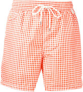 Polo Ralph Lauren checked swim shorts - men - Polyester - S