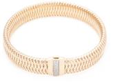 Roberto Coin Primavera 18K Rose Gold & 0.18 Total Ct. Diamond Bracelet