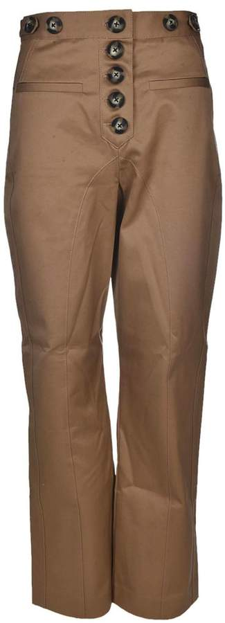 Self-Portrait Self Portrait Trench Button Trousers