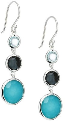 Ippolita Lollipop Lollitini Sterling Silver & Multi-Stone Drop Earrings
