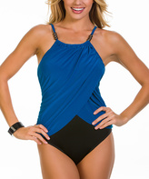 Magicsuit Blue & Black Lisa One-Piece