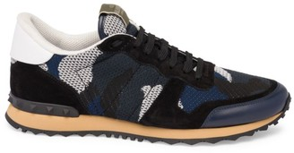 Valentino Rockrunner Camouflage Sneakers