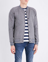 Levi's Fleece cotton-blend bomber jacket