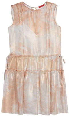 Max & Co. Trivella Silk Ruffle Dress