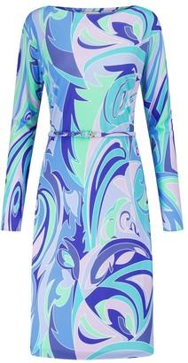 Emilio Pucci Exclusive to Mytheresa Printed jersey midi dress