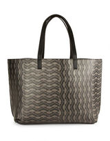 Echo Geometric-Patterned Tote