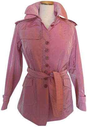 Ermanno Scervino Pink Trench Coat for Women