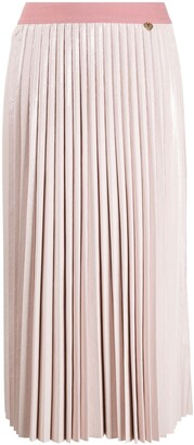 Twin-Set Pleated Midi Skirt