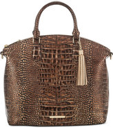 Brahmin Large Duxbury Satchel Brown Milan