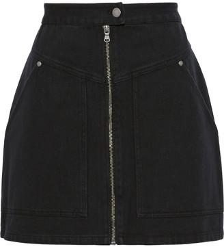 Rebecca Minkoff Marigold Cotton-twill Mini Skirt