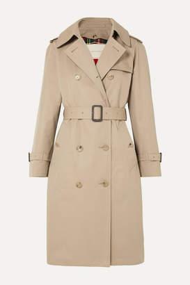 MACKINTOSH Muirkirk Cotton-gabardine Trench Coat - Beige