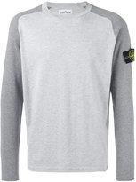 Stone Island raglan sweater