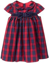 Janie & Jack Holiday Family Plaid Dress (Baby) - Multi - 3-6 Months