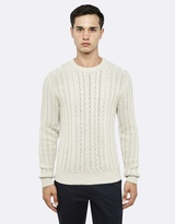 Oxford Hamish Cable Knit
