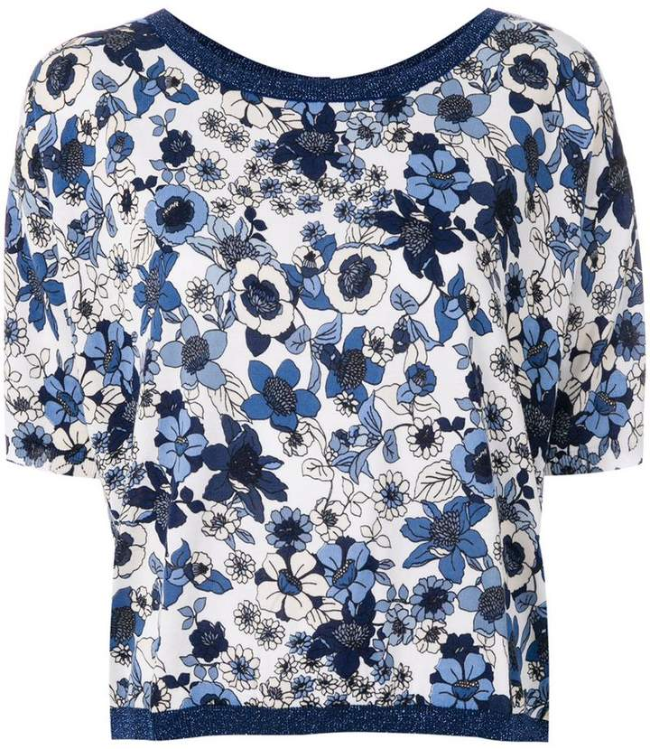Twin-Set floral print blouse