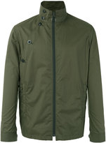 Joseph Carlton-Parachute zipped jacket - men - Cotton/Polyurethane - 46