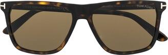 Tom Ford Fletcher square-frame sunglasses