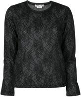 Comme des Garcons lace sweatshirt