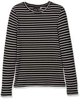 Name It Girl's Nitoxana LS Stripe F Lmtd Long Sleeve Top,(Manufacturer Size: 146-)
