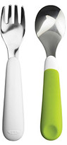OXO TOT Green Fork and Spoon Set