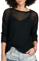 Denim & Supply Ralph Lauren Linen Crew Neck Sweater