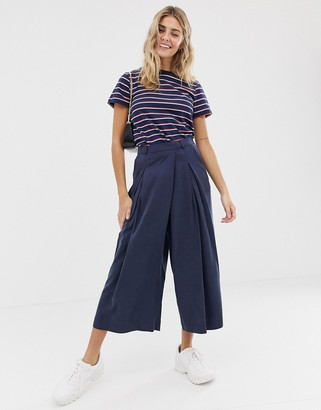 ASOS DESIGN culotte with origami waist