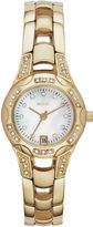 JCPenney RELIC Relic Charlotte Womens Gold-Tone Crystal-Accent Watch ZR12054
