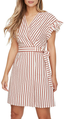 Vero Moda Olympia Striped Wrap Dress