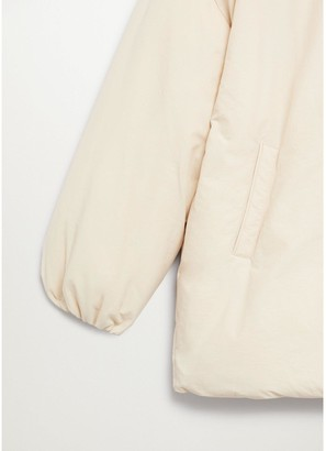 MANGO Padded Coat - Beige