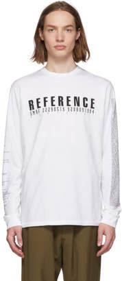 Yang Li White Samizdat Reference Long Sleeve T-Shirt