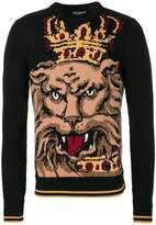 Dolce & Gabbana Royal Lion jumper